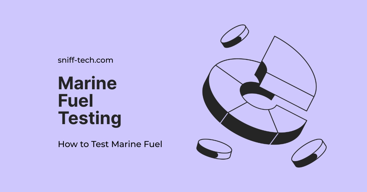 marine fuel testing is displayed against a light coloured background.
